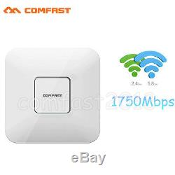 1750Mbps Dual Band 2.4G/5GHz Wireless Access Point Indoor WiFi AP POE 802.11AC