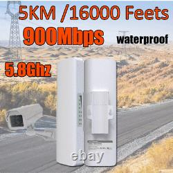 5km 900Mbps 5G WiFi Router Outdoor Access Point CPE Bridge Wireless AP Scenic
