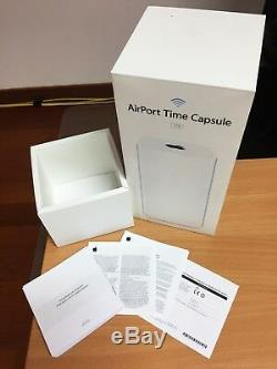 Apple AirPort Time Capsule base station WiFi access point with3TB HDD modelA1470