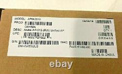 HP HPE Q9H62A Aruba AP-515 RW Unified Access Point 802.11AX Rest-of-World Non-US