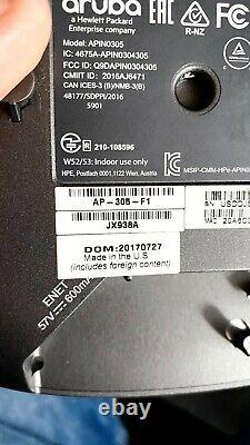 HPE Aruba Instant IAP-305 (RW) Access Point FIPS/TAA (Converted from AP)