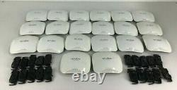 LOT OF 20x Aruba Networks APIN0205 AP-205 Wireless Access Point With Mounts