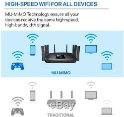 Linksys EA9500 Tri-Band Max-Stream AC5400 MU-Mimo Fast Wireless Router