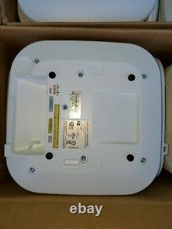 Lot of (10)Cisco AIR-AP1142N-A-K9 Dual Band Wireless Access 300Mbps