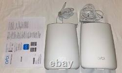 NETGEAR Orbi Mesh Pack RBK50 Indoor System and RBS50Y Outdoor Satellite
