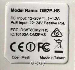 Open mesh G200 Router And 5 OM2P-HS Access Points