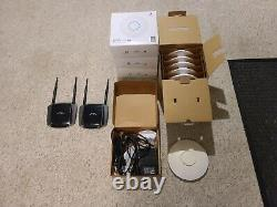 Ubiquiti Networks SWX-UAP Wireless Access Point Lot Of 9 Plus 2 Routers