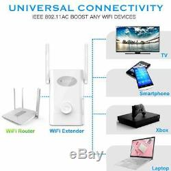 Wireless Signal Booster WiFi Extender AC 1200 Dual Band Repeater Router AP